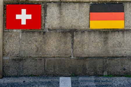 Grenzübertritt Schweiz-Deutschland Export Import von Waren